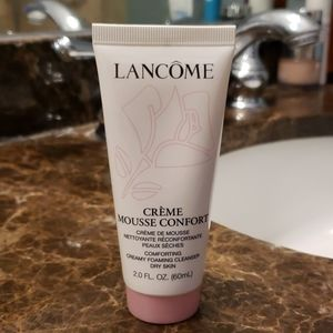 Lancome creamy foaming cleaner